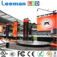 high quality display in south africa LEEMANLED p10 full color led display
