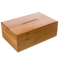 Exclusive Design wooden essential oil storage box wooden packing gift box wholesale with 24 grids