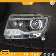 Modify headlight assembly For Jeep Compass MK 2011-14 4x4 accessories