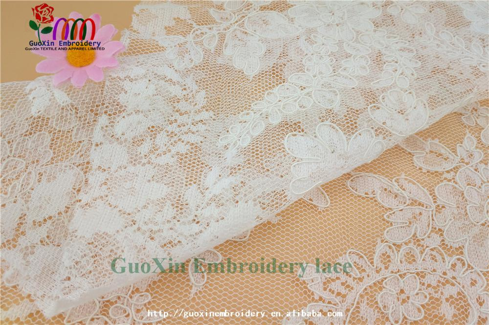 high quality designer bridal sarees image lace embroidery lace fabric with cording (3).jpg