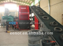 TDF plant waste tire recycling machine/Rubber Cutting Machine Type Rubber recycling plant