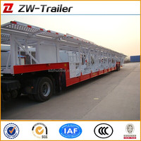 2014 Shandong OEM brand Transport Car Semi Trailer new car carrier semi trailer for sale
