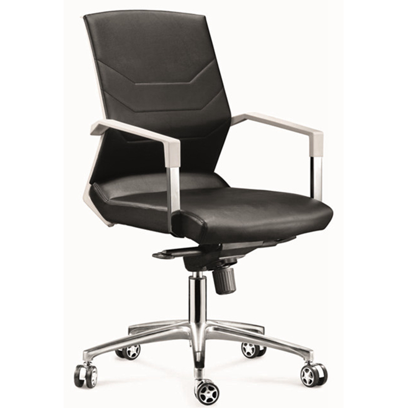 alibaba china modern ergonomic leather armless chair