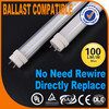 Hot T8 Series LED Tube 9W Instant fit tube Ballast Compatible 600mm led tube 900lm