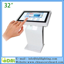 Hot selling 32 inch touch screen interactive kiosk