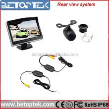 5 inch Monitor Back Up Car Camera Wireless Car Rear View Camera System