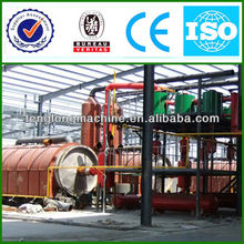 Newest Design Crude/Waste Oil into Diesel and Gasoline Distillation Plant with CE&ISO&BV