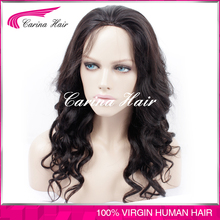 Carina Hair Products black women natural wigs and hairpieces bleached knots full lace wig