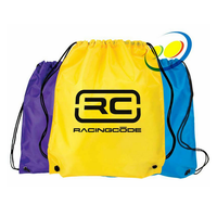 Custom pull bag for school student with rope