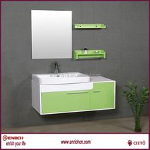 Color bright bathroom furniture luxurious