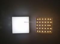 Energy saving new surface mounted ivory square LED panel lite
