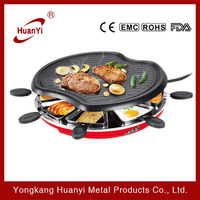 hot selling 1300W temperature controlled electric pancake grill