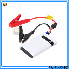 Motorcycle and car starter 8000mah mini car jump starter with ce certification