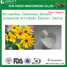 natural sunroot Helianthus Tuberosus Extract Powder Jerusalem Artichoke P.E Helianthus tuberosus L. powder Inulin 10%-90%