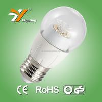 2015 hot product! Ra>80 E27 E14 Led bulb, 6000K LED light bulb 4W 170-240V SMD Led bulb lamp B45HAP
