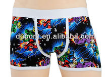 Hot Selling Style Reactive Printing Boxer Shorts For Men