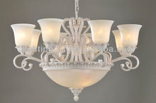 2012 Iron decoration wrought Chandeliers,crystal,CH054-8-3