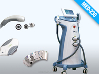 pain-free ipl laser medical machine monopolar rf wrinkle removal equipment permanent cosmetic machines