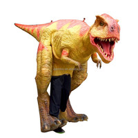 Playground use dinosaur costume T-rex