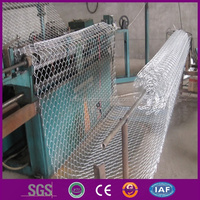 Chain link fencing fabric
