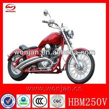 250cc v-twin engine chopper motorcycle with EEC DOT/chopper (HBM250V)