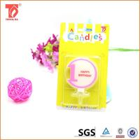 flower shaped brithday candle ear wax candles for sale