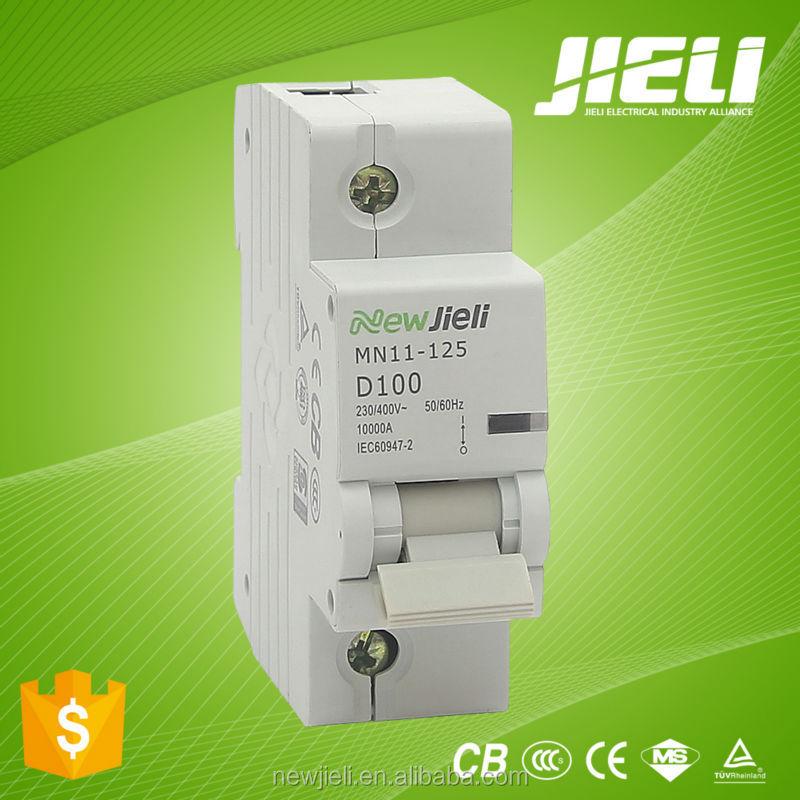 ผลิตภัณฑ์ไฟฟ้าwenzhounc-100hจิ๋วตัดวงจรmcbแอมป์125100a