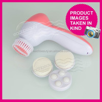 Professional skin care brush 4 in 1 deep clen Electric beauty & clean set for facial and foot