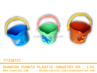 Promotional Heat Transfer Printing Sand Beach Mini Bucket Toys