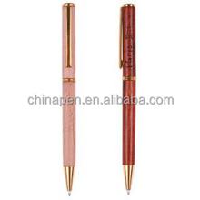 2015 Hot selling metal roller pen, metal twist ball pen slim, office supplies pen gift
