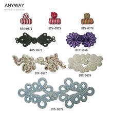botones tejido estilo chino