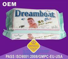 80pc soft Baby Wipes(fragrance/No fragrance) rich aloe & vitamin E