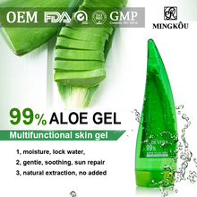 Moisturizing aloevera gel crushed with GMP Certificate 869895