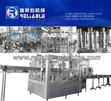 Full automatic carbonated drink filling production machine line / 3-in-1 equipment