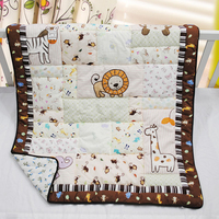100% cotton embroidery bedding comforter quilt for baby