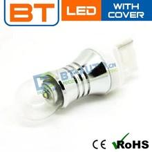 Latest 21/5w 12V-24V S25 Fog Bulbs LED Auto Light With Glass Cover For Cree Light