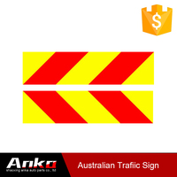 red triangle road traffic signs and symbols,reflective aluminum plate,red yellow reflective