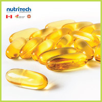 Fish Oil 1000 mg Softgels OEM Private Label Supplements, GMP-Certified