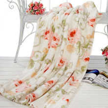 Custom made design printed blanket wholesale