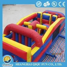 Commerical inflatable obstacle for amusement park/outdoor activity