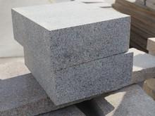 grey granite road granite kerb stone