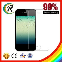 Cheap tempered glass for mobile phone for iphone 4 tempered glass manufacturer