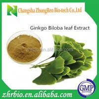 100% Pure Natural Ginkgo Biloba Leaf Extract Powder(Flavones24% Lactone 6%)