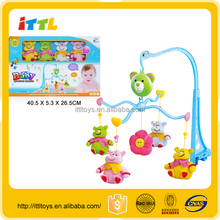Infant Baby Toys Baby Musical Bell Mobile Wind Up Baby Musical Hanging Toys
