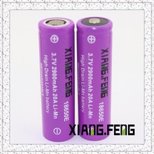 durable battery Xiangfeng 18650 Rechargeable Battery 2600mAh 40A 3.7V 18650F durable battery