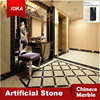 Interior Flooring Polished White Artificial Marble, gery Marble, etc.