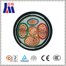5 core steel wire armoured with copper conductor PVC insulated power cable/underground power cable/electric power cable
