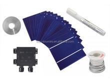 "100 W 40Cells 5""*5"" (126x126mm) Solar Cells DIY solar panel kits"