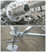 ringlock scaffolding for ringlock scaffold system