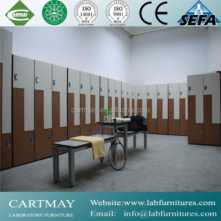 Gym locker room furniture school wood